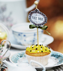 Mad Hatters Tea Party Cupcake Class